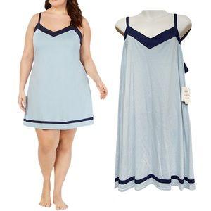 Alfani Pima Cotton Plus Size Chemise Nightgown NWT